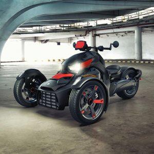 BRP представляет абсолютно новую модель трехколесного транспортного средства Can-Am Ryker