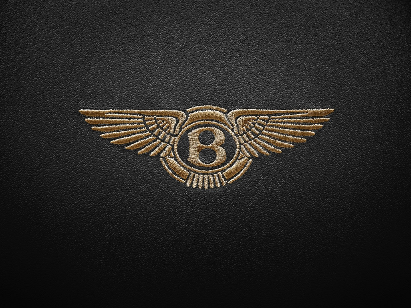 Bentley Headrest Emblem