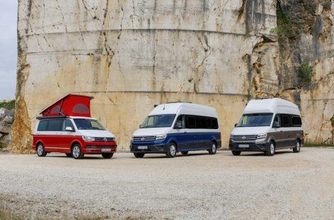 Volkswagen Коммерческие автомобили на выставке Caravan Salon 2018