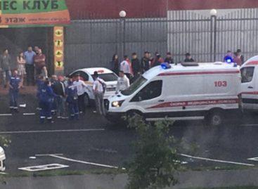 Водитель из Кыргызстана сбил 10 человек в Москве на Люблинской улице