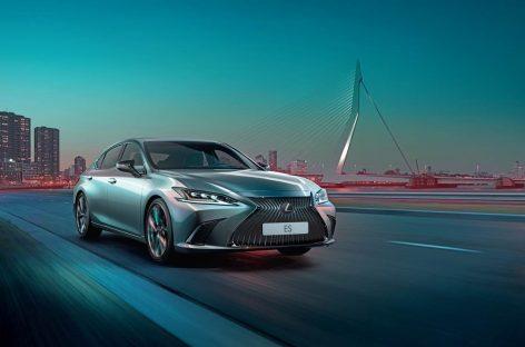 Lexus начинает продажи в России нового поколения элегантного бизнес-седана ES