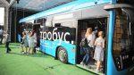 По маршруту № 73 «ВДНХ» — 6-й микрорайон Бибирева» запустили 10 электробусов
