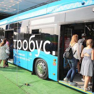 "По маршруту № 73 ""ВДНХ"" - 6-й микрорайон Бибирева"" запустили 10 электробусов"
