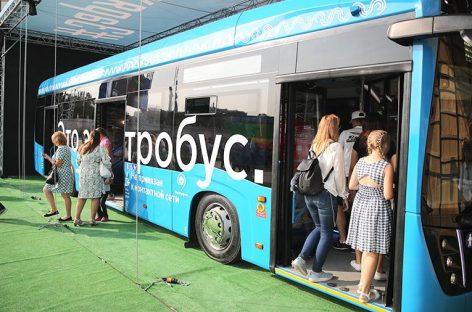 "По маршруту № 73 ""ВДНХ"" – 6-й микрорайон Бибирева"" запустили 10 электробусов"