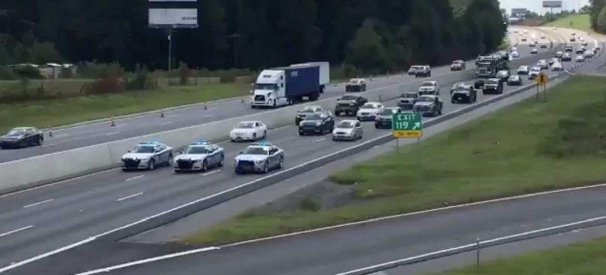 Эвакуация в Южной Каролине – все 6 полос
