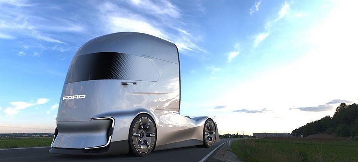 Ford представил беспилотный электрический тягач