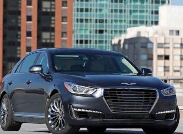 В сети появились изображения нового седана Genesis G90 2019