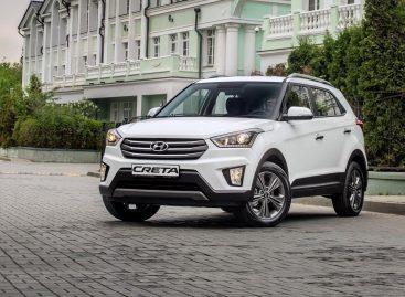 Обновленный кроссовер Hyundai Creta вызвал ажиотажный спрос