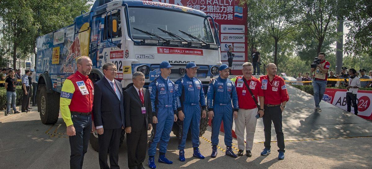 Команда «КАМАЗ-мастер»: Технические проверки в городе Сиань успешно пройдены