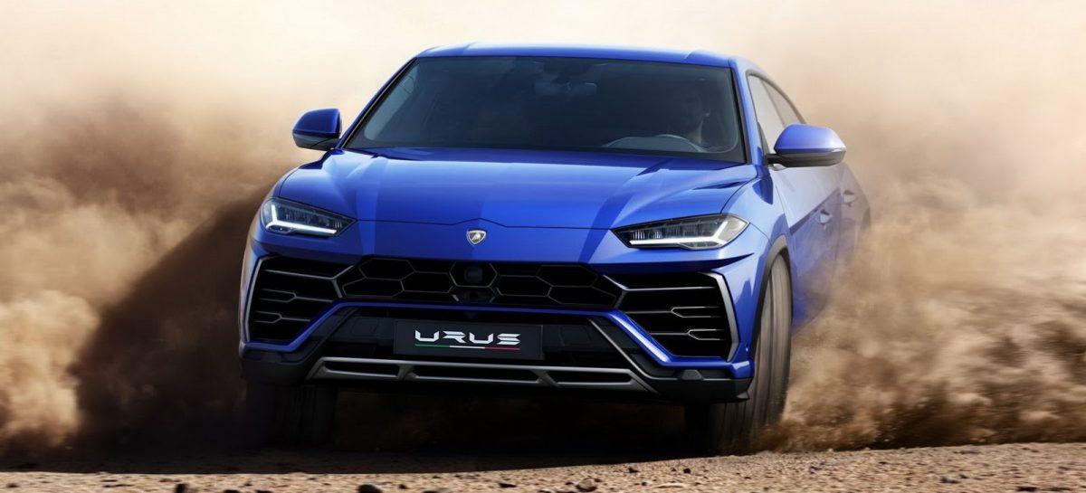 Lamborghini Urus показал себя в дрэге