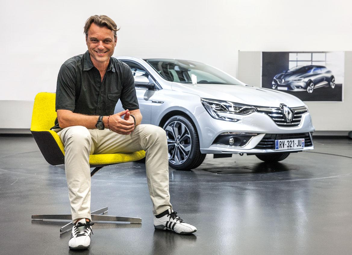 Главный дизайнер Renault Лоренс ван ден Акер