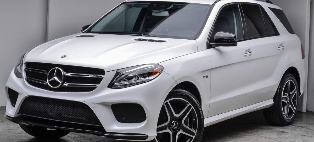 В сети появились фото нового Mercedes-Benz GLE