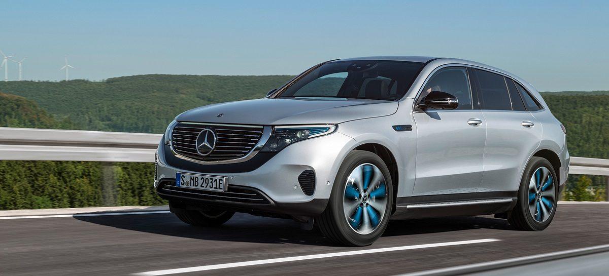 Mercedes-Benz представил свой первый электрический кроссовер