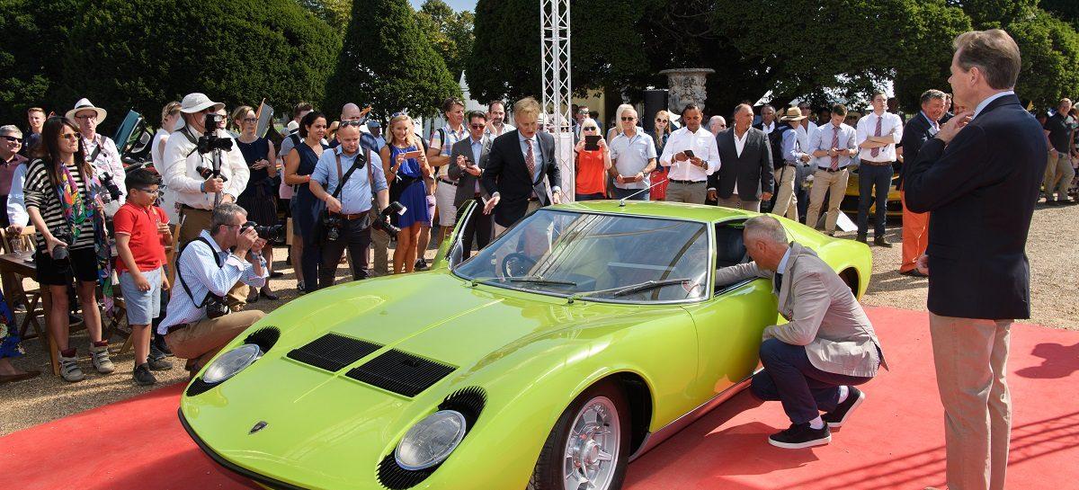 Две модели Lamborghini Miura S успешно выступили на выставках Salon Privé и Hampton Court Palace Concours d'Élégance
