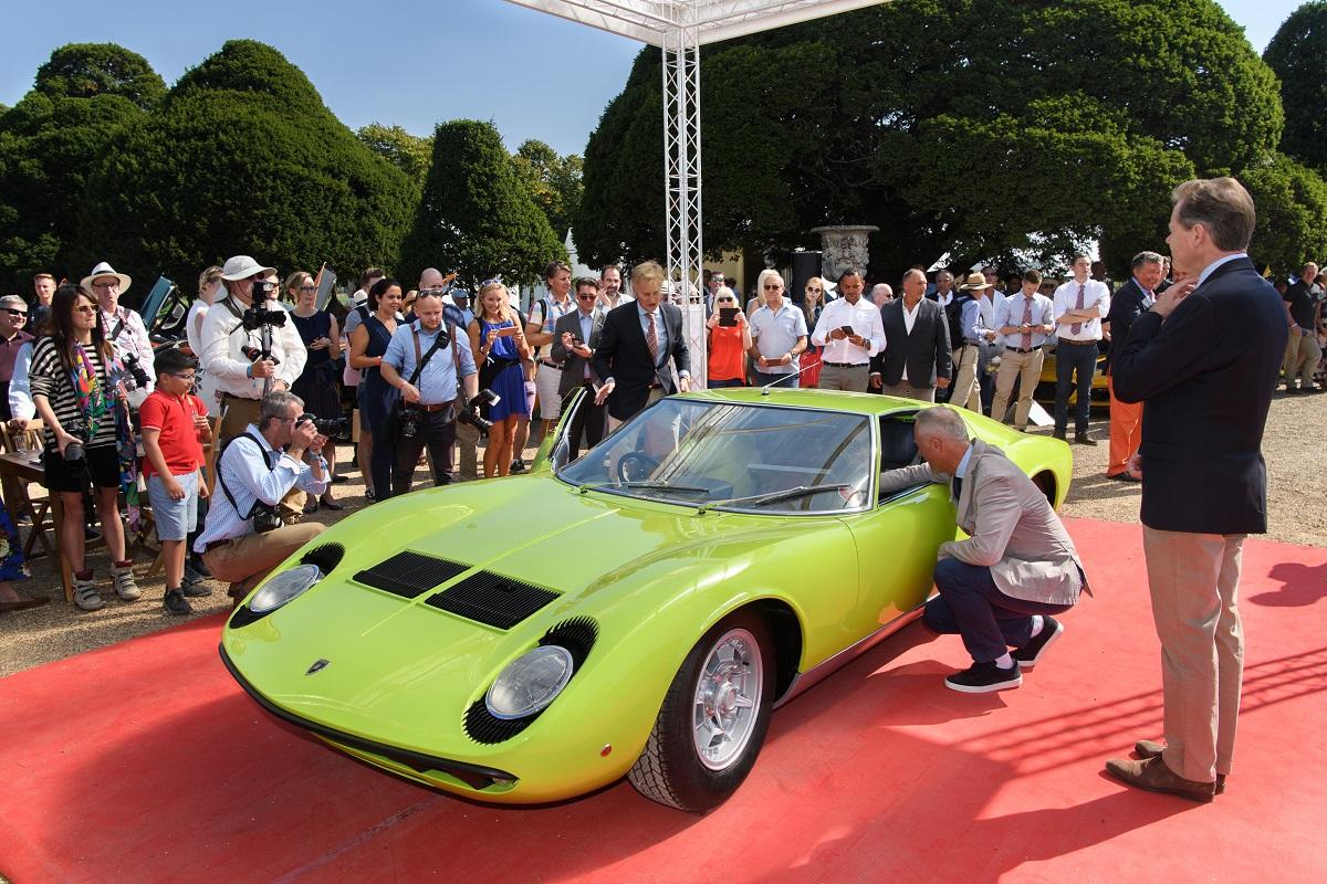 European Debut of the new Aventador SVJ at Salon Privé (2)