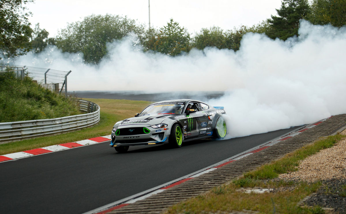 Mustang Green Hell Drift