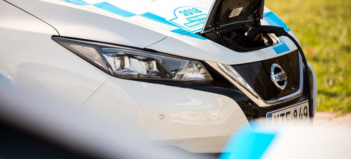 Nissan LEAF – «движущая сила» марафона по Европе