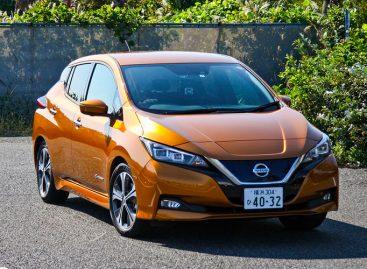 Электрический Nissan Leaf возможно опять приедет в Россию