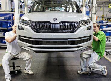 C конвейера сошел 250-тысячный Škoda Kodiaq