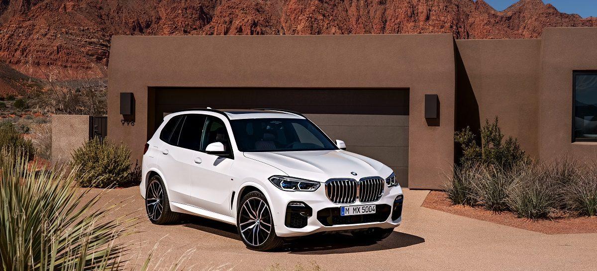 BMW испытает новую водородную установку на кроссовере X5