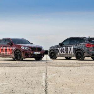 Официальная презентация BMW X3 M и BMW X4 M на Нюрбургринге