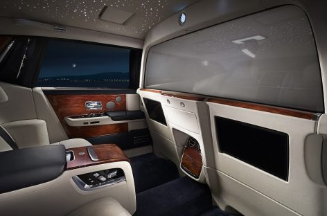 Электрохромное стекло с регулируемой видимостью в новом Rolls-Royce Phantom