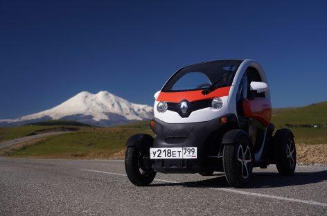 Renault Twizy установил рекорд по версии книги рекордов россии