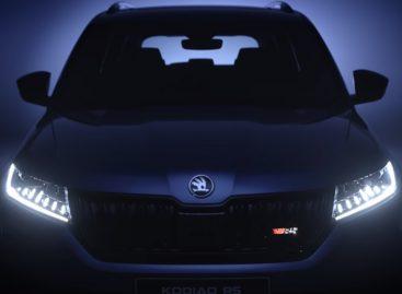 Skoda раскрывает новые детали дизайна Kodiaq RS
