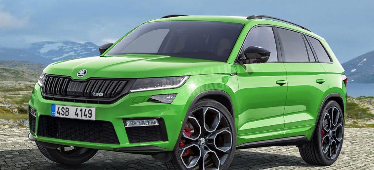 Новый Škoda Kodiaq RS: спортивный характер, комфорт и просторный салон