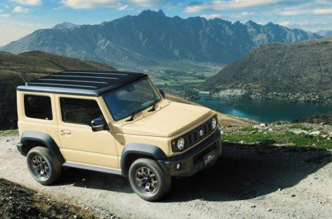 Suzuki Jimny нового поколения появится в России только весной 2019 года