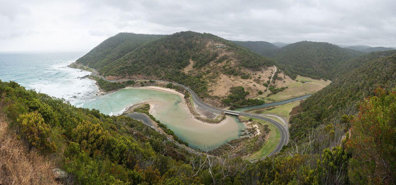 Великая океанская дорога в Австралии,