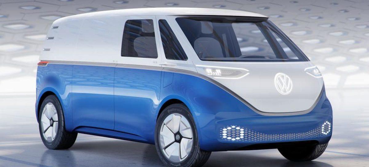 Электрический минивэн Volkswagen ID Buzz Cargo: 550 км пробега и производство в 2021 году