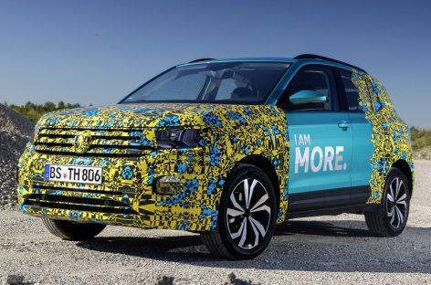Volkswagen опубликовала видеоролик о новом кроссовере T-Cross