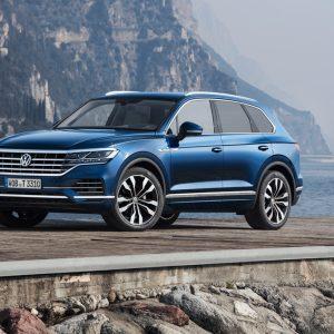 Пять звезд Euro NCAP для нового Volkswagen Touareg