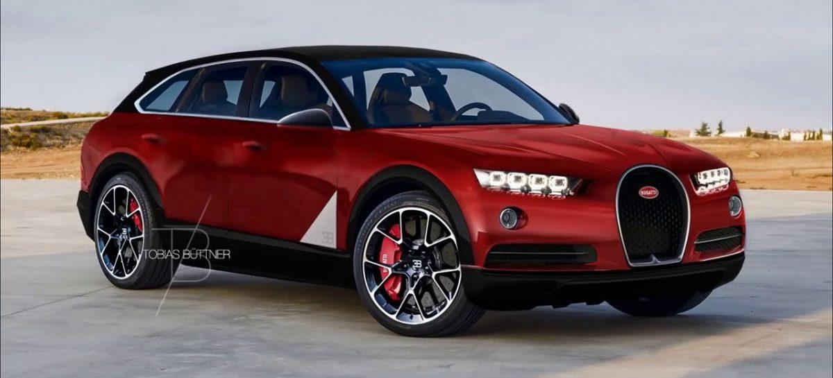 Bugatti планирует суперкроссовер