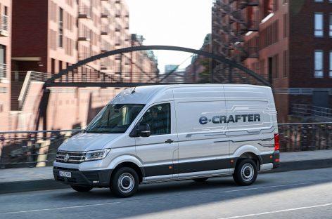 Volkswagen электрифицирует модель Crafter
