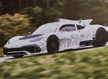 1000-сильный гиперкар Mercedes-AMG Project One вышел на дорожное испытание
