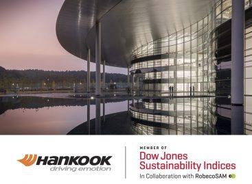 Hankook Tire третий год подряд в списке DJSI World