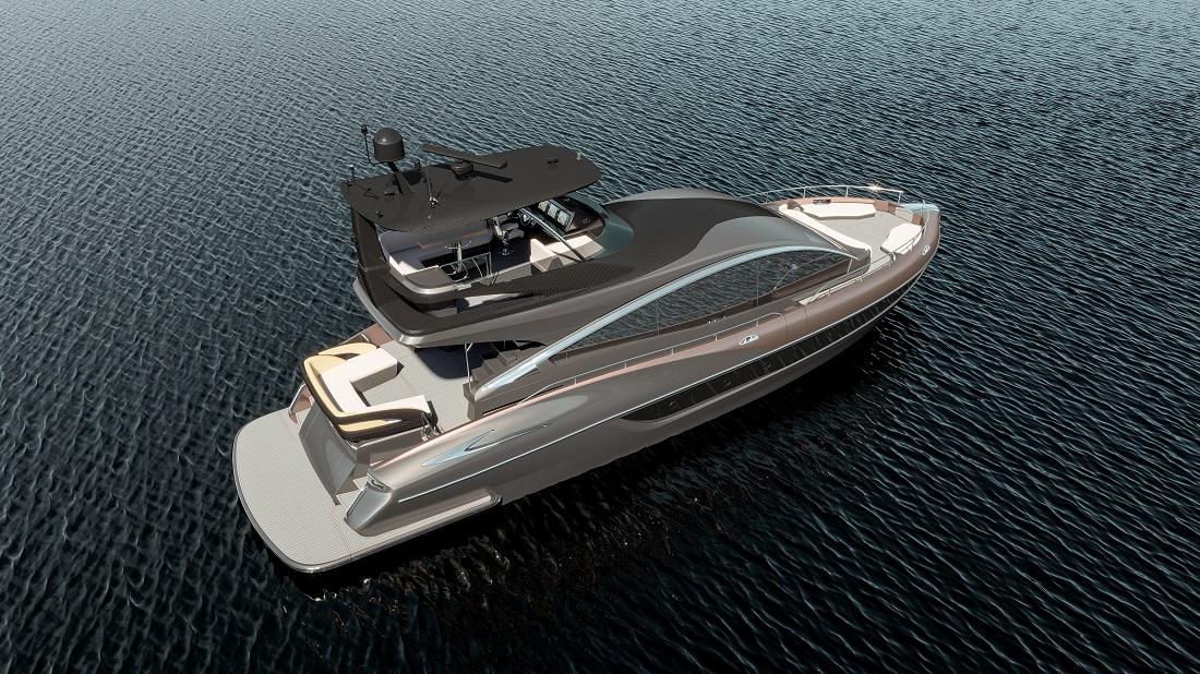 Яхта Lexus LY 650