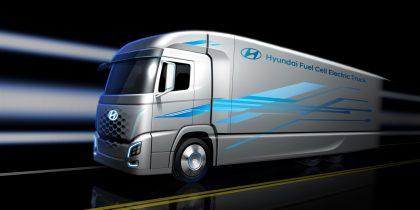 Hyundai электрогрузовик