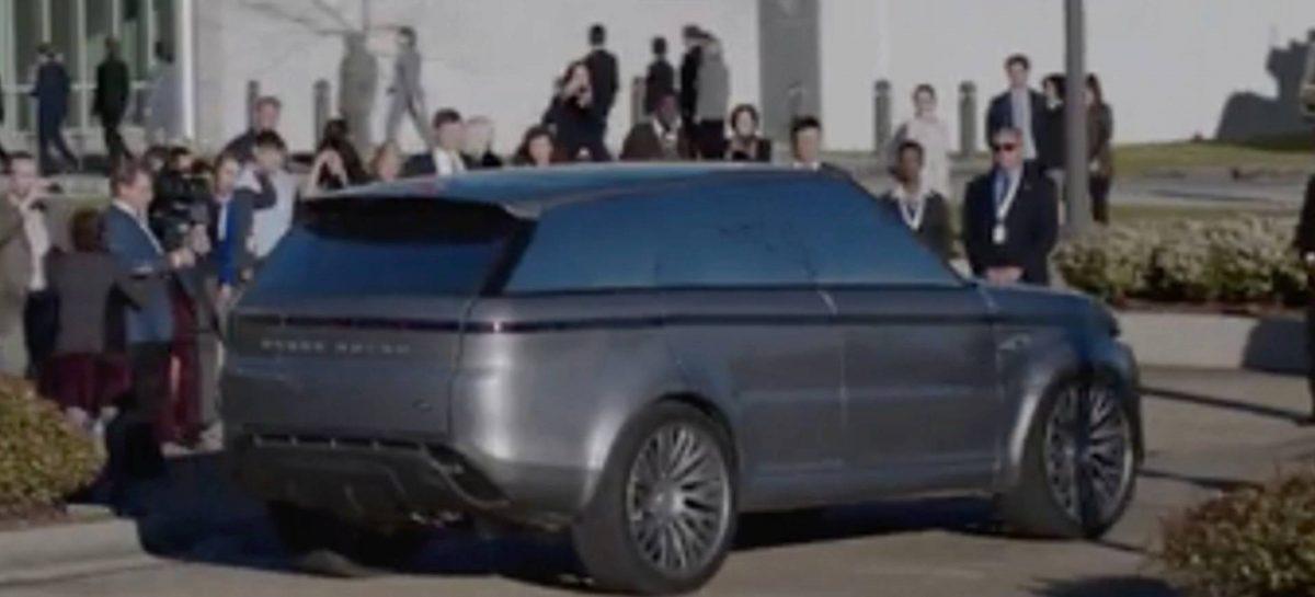 Футуристичный Range Rover Sport в новом американском сериале  сервиса Hulu «Первые»