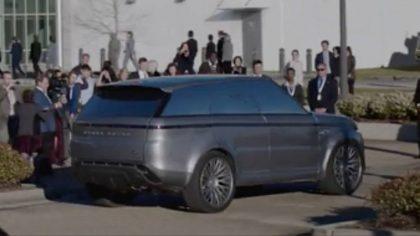 Концепт Range Rover Sport из сериала Первые