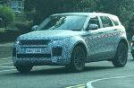 Шпионские фото нового Range Rover Evoque