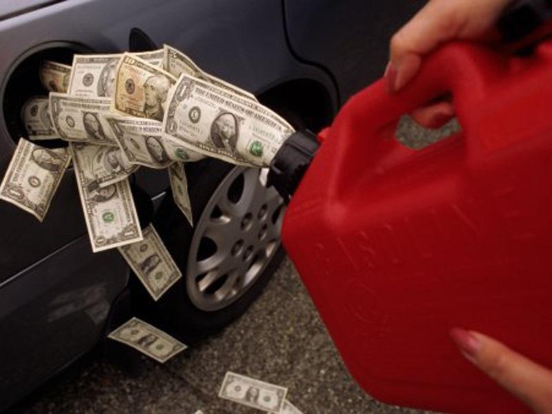 Рост цены на бензин