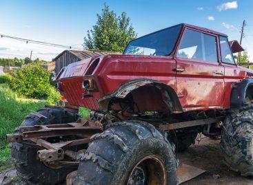 Житель Архангельской области создал уникальный внедорожник