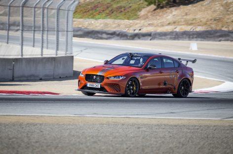 Jaguar XE SV Project 8 установил новый рекорд скорости