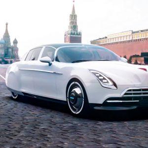 Российский дизайнер показал проект нового ЗИМа