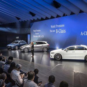 В этом году Mercedes-Benz представил мировому сообществу целых пять новых автомобилей на Парижском автосалоне