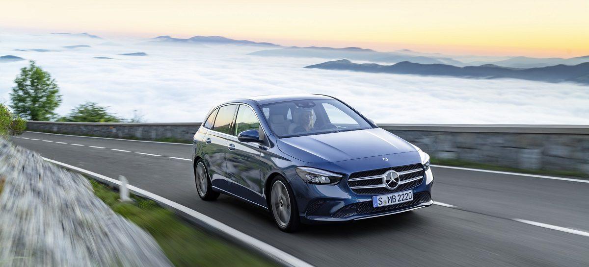 Mercedes-Benz B-Класса будет доступен с декабря 2018 года
