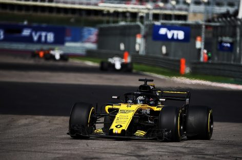 Renault Sport Formula One Team на Гран-При России